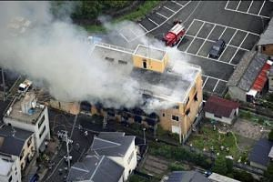 At least 33 feared dead after suspected arson attack on Japanese animation studio