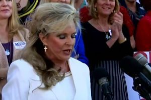 'He will not step down': Roy Moore's wife