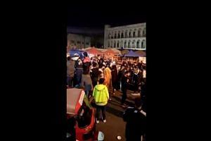 Soleimani attack site cleared as Iraqis celebrate his death