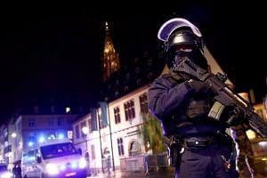 Gunman kills at least two in Strasbourg