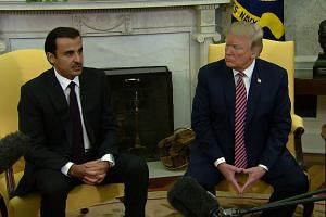 Donald Trump says US, Qatar 'working very well together'
