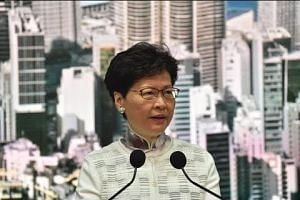 Embattled Hong Kong leader Carrie Lam suspends extradition bill