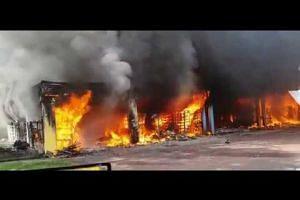 Fire at Block 720 Ang Mo Kio Ave 6