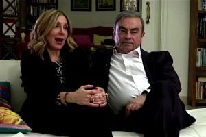 'At least here he's free': Carlos Ghosn's wife Carole on life in Lebanon