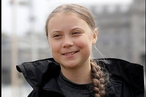 Teen activist Thunberg takes climate fight to the US