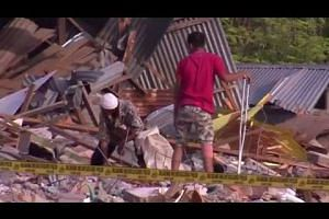 Cleanup underway after Indonesia quake