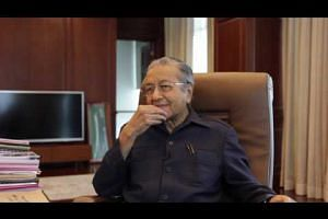 Malaysia's former prime minister Mahathir Mohamad on the PAS