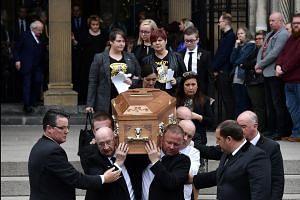 Irish, British leaders join mourners at funeral of murdered Northern Irish journalist Lyra McKee