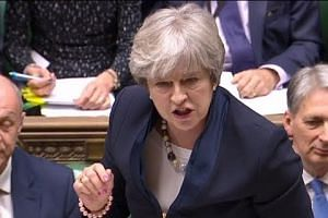 British PM Theresa May suffers Brexit defeat