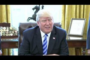 'We were very close': US President Donald Trump on healthcare bill