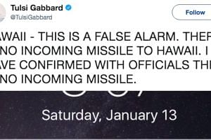 Missile alert mistakenly sent out in Hawaii