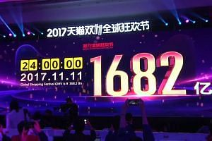 China's Single's Day smashes sales records at $25 billion