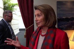 Nancy Pelosi urges Trump to reschedule State of the Union