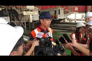 SMRT CEO Neo Kian Hong on improving train reliability on the NSEWL