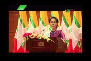 Myanmar's Suu Kyi breaks silence over Rohingya exodus