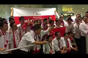 National culinary team return home after two golds at the Culinary Olympics