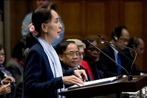 Suu Kyi says genocide case brought against Myanmar 'misleading'