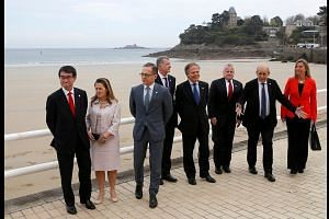G-7 foreign ministers kick off second day of talks