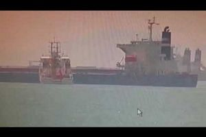 Malaysian government vessel Polaris and Greek carrier collide in Singapore waters