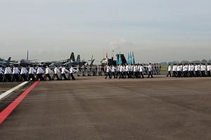 RSAF50 Parade colours