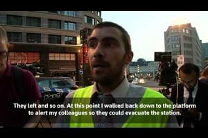 Eyewitness recounts Brussels blast