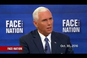Mike Pence says his private e-mail use wasn't the same as Hillary Clinton's