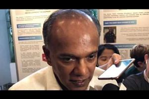 Shanmugam commenting on terrorism