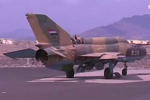 Saudi air defences intercept Houthi missile