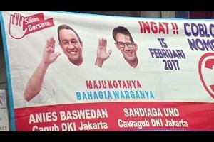 Indonesians vote in Jakarta poll marred by religious divisions