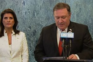 UN united on denuclearisation of North Korea: Pompeo
