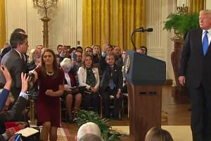 'You are a rude, terrible person': Trump to Acosta