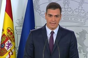 Spanish PM calls snap national election