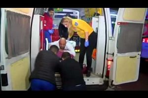 Turkish attack victims rushed to hospital