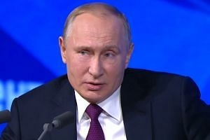 Putin: US is raising the risk of nuclear war