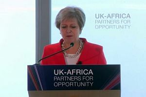 Theresa May wants UK to be G7's 'number one' investor in Africa
