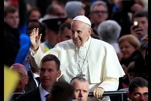 """Catholic church shamed by """"repugnant"""" abuse: Pope"""