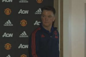 Louis van Gaal pre-match press conference - Stoke vs Manchester United