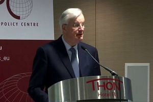 EU's Barnier: no-deal Brexit more likely by the day