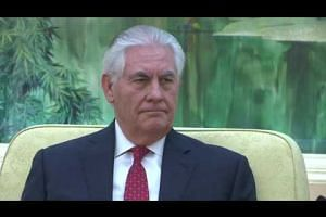 US Secretary of State Rex Tillerson meets Chinese President Xi Jinping
