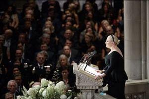 Obama, Meghan McCain rebuke Trump at funeral