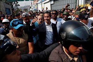 Juan Guaido says 'final phase' to oust Maduro has begun