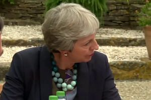 Macron meet May in south of France ahead of talks