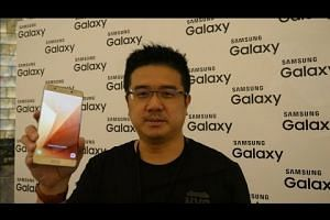 Hands on with Samsung Galaxy Note7
