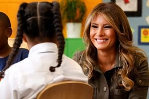 First Lady announces 'Be Best' campaign for kids
