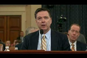 Comey confirms FBI probe into Russia hacking in 2016 elections