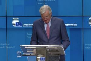 EU's Barnier says 'decisive moment' reached in Brexit process
