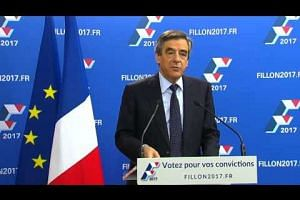 Fillon, Juppe top first round of French presidential primary