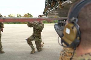 US border troops deploy, critics slam Trump