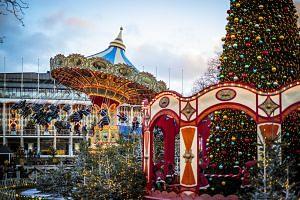 Tivoli Gardens theme park.