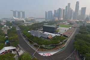 A view of the Padang and the CBD as seen from Swissotel The Stamford. The first Car-Free Sunday SG will kick off with a mass walking, jogging and cycling event along a 4.7km route of fully and partially closed roads. The area will host mass aerobic w